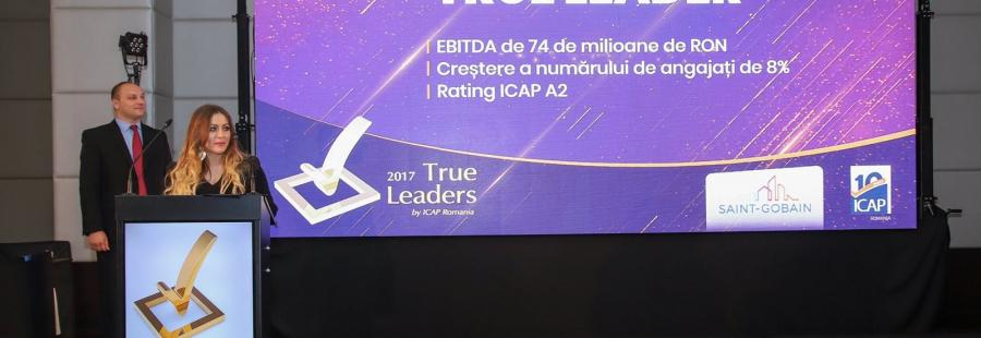 Saint-Gobain Glass Romania, True Leader al anului 2017